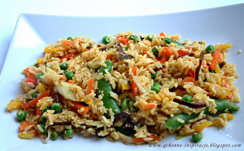 Dietetyczna Wersja Smazonego Ryzu Z Warzywami Qchenne Inspiracje