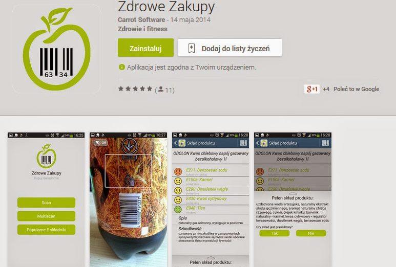 Na Tropie E Skladnikow Testujemy Aplikacje Zdrowe Zakupy