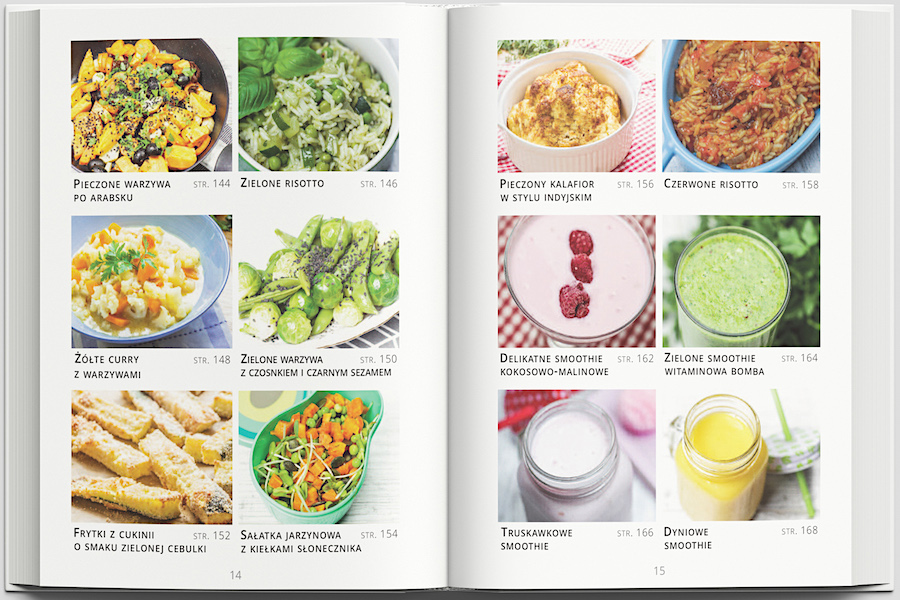 przepisy wegetariańskie i wegańskie